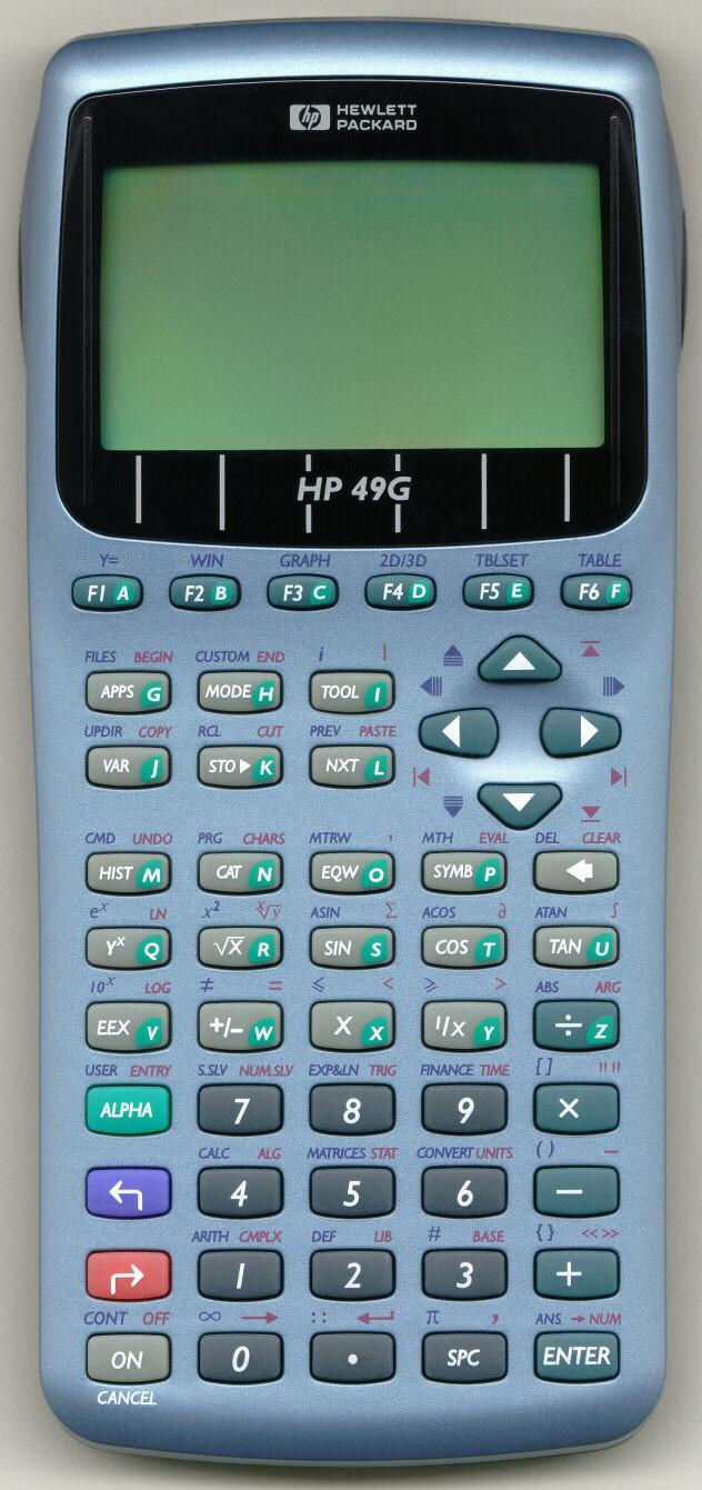 New Hp49g Calculator