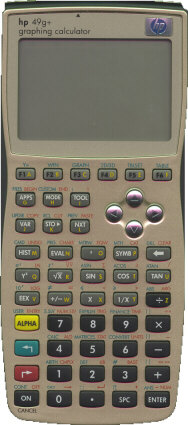 Front of calculator (thumbnail)