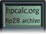hpcalc.org - HP 28 Archive
