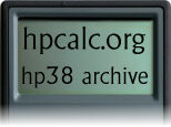 hpcalc.org - HP 38 Archive