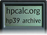 hpcalc.org - HP 39/40 Archive