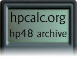 hpcalc.org - HP 48 Archive