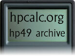 hpcalc.org - HP 49/50 Archive