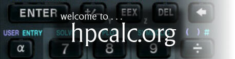 Welcome to hpcalc.org